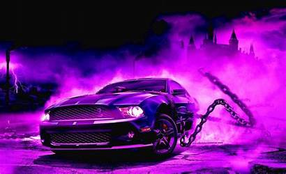 Wallpapers Cars Purple Mustang Cool Muscle