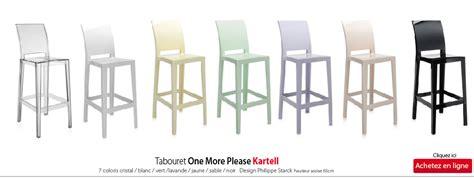 chaise plan de travail chaise de cuisine kartell
