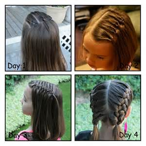 Hairstyles for Short Hair for School Girls