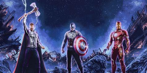 Avengers Endgame Poster Highlights Thor Iron Man