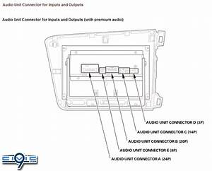 2013 Civic Premium Sound Navigation Pinout    Diagram