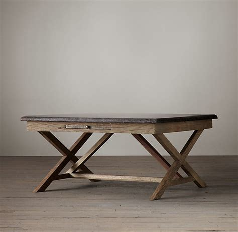 Rh members enjoy 25% savings and complimentary design services. Restoration Hardware Bluestone X-Base Coffee Table - ShopStyle