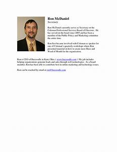 Best photos of professional biography template examples for Staff bio template