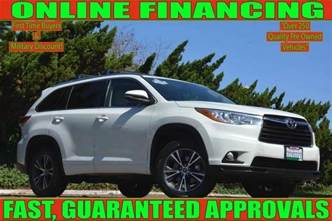 Toyota National City by 2016 Toyota Highlander Xle 4dr Suv National City Auto