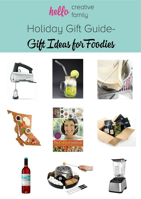 top gifts for a foodie family gift guide gift ideas for foodies with giveaways hello creative family
