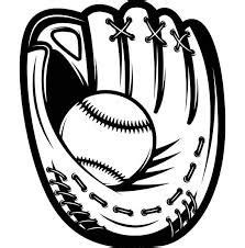 image result  baseball glove svg crafts svgs  silhouettes cut image cricut sports