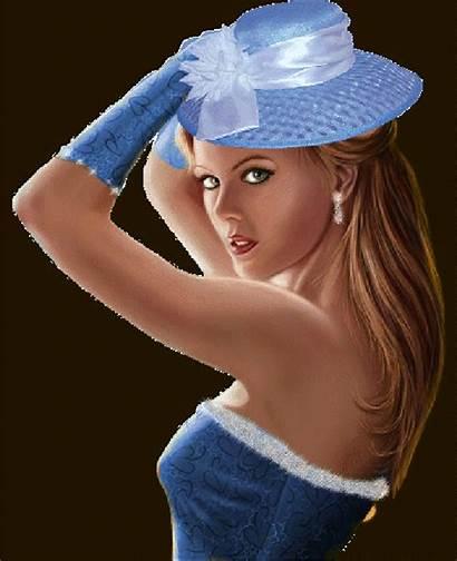 Belle Kidman Nicole Jolies Belles Bleu Femme