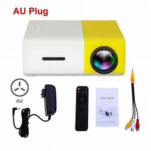 Yg300 Pocket Projector Portable Mini Led Hd 60 Inch In