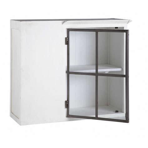 ikea element cuisine haut meuble haut d 39 angle de cuisine ouverture gauche en bois recyclé blanc l 94 cm ostende maisons