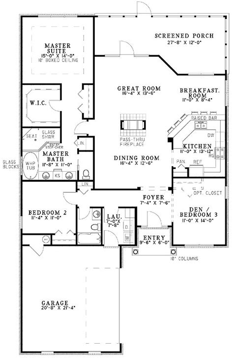 house plans with great kitchens 14 best images about house plans on