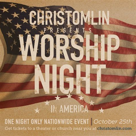 Community Christian Church Worship Night America