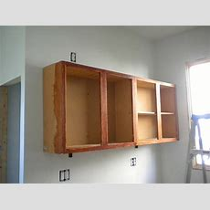 How To Hang Cabinets  Sarah's Big Idea