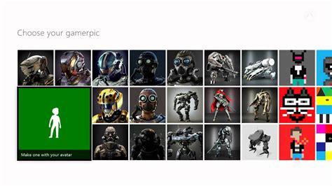 Xbox One Change Your Gamerpic Youtube