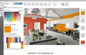 Simulateur Décoration Intérieur Gratuit : decoration peinture virtuel gratuit ~ Melissatoandfro.com Idées de Décoration