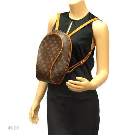 louis vuitton ellipse backpack authentic pre owned  luxedh