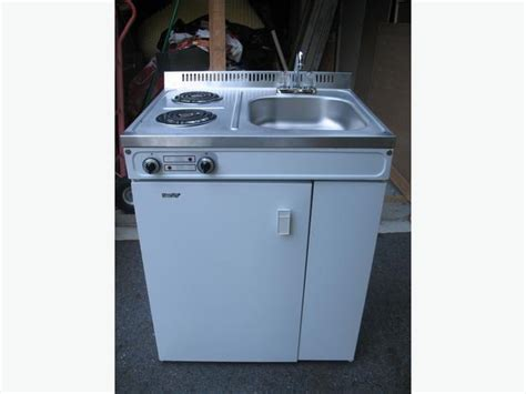 all in one kitchen sink and stove compact kitchen bar fridge sink stove all in one unit