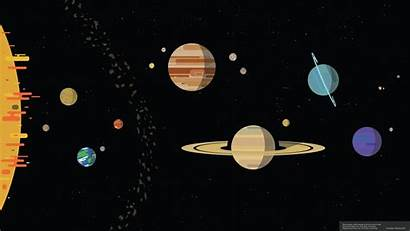 Solar System Wallpapers Kurzgesagt Scale Planets Nutshell
