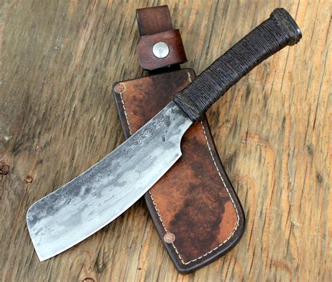 sets of kitchen knives bush cleaver wildertools by rick marchand
