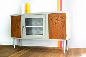 Buffet Enfilade Vintage : buffet bas vintage pimprenelle les jolis meubles ~ Teatrodelosmanantiales.com Idées de Décoration