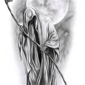 Pics Photos - Black And White Grim Reaper
