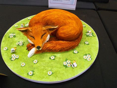 decorations for a kitchen 20 fantastic fox cakes that escaped the boxing day hunt