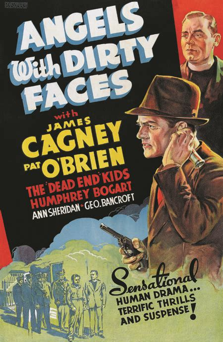 angels  dirty faces james cagney  poster ebay
