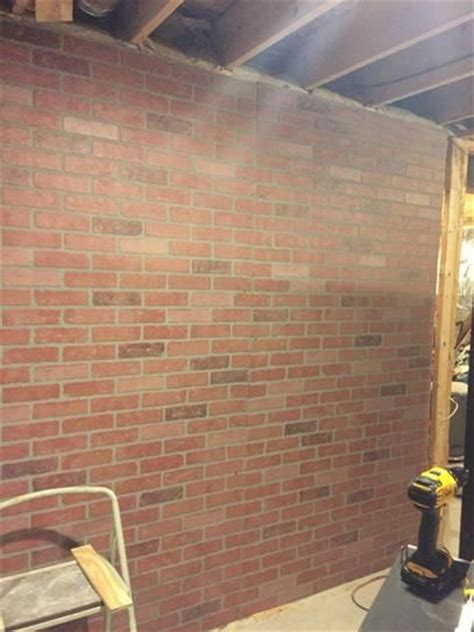 kingston brick hardboard wall
