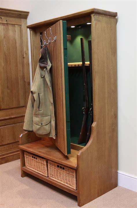 hidden gun cabinet  plain sight cabinet  home
