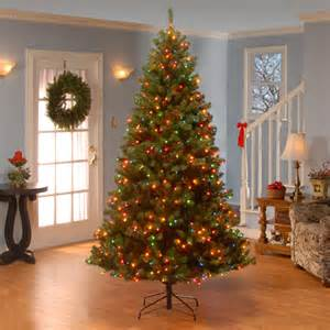 artificial christmas tree glendale pine pre lit