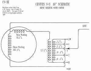 Emerson Electric Motor Wiring Schematic