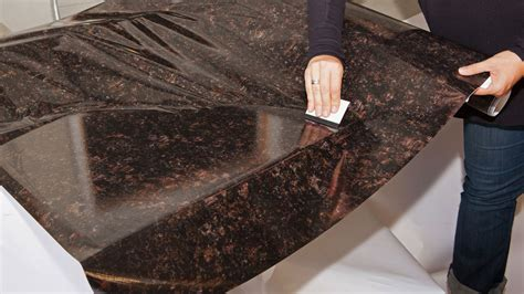 Instant Countertops by Appliance S Instant Granite In Chestnut