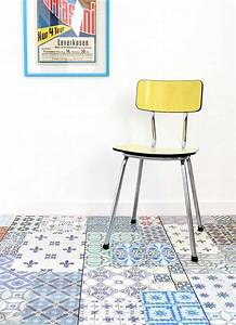 Sol Stratifié Carreau De Ciment : 36 id es d co avec des motifs carreaux de ciment ~ Edinachiropracticcenter.com Idées de Décoration