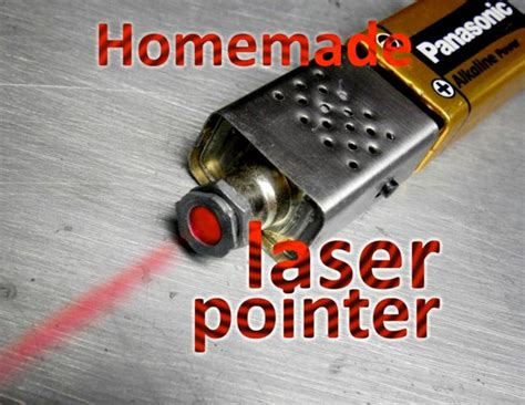 What Does Lasers Stand For by Homemade Laser Pointer