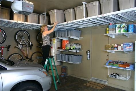 Garage Cabinets Ireland by 10 Innovative Diy Garage Shelving For Storage Solutions