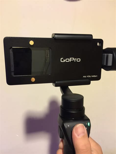 pgy gopro adapter switch mount plate  dji osmo mobile review page    funkykit