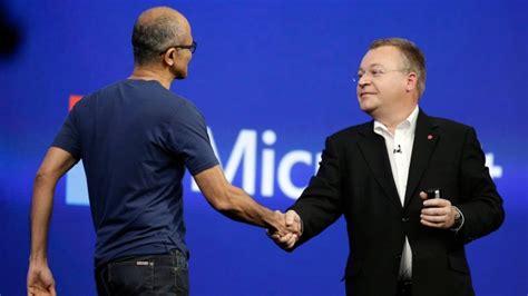 Microsoft Shuffles Leadership Team, Former Nokia Ceo Out