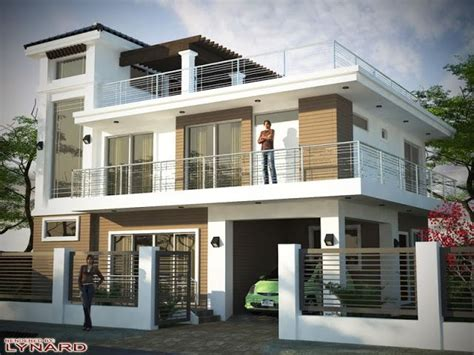 pictures  beautiful houses  roof deck  storey house design  storey house