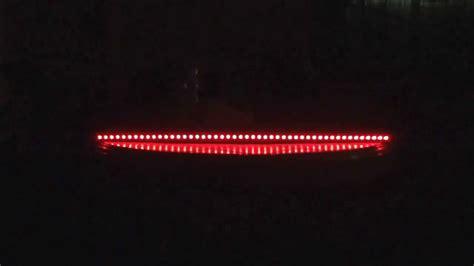 rider led scanner 7 colours light bar remote