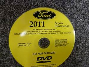 2011 Ford Expedition Shop Service Repair Manual Dvd Xl Xlt