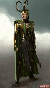 Check out this Loki concept art by Charlie Wen from Marvel ...