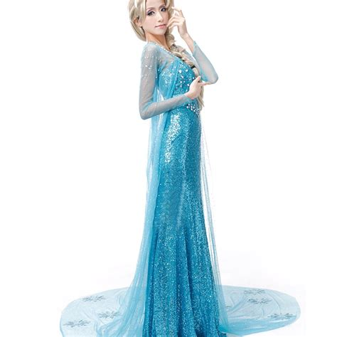 Mukena Frozen Elsa Size Xl frozen snow princess elsa dress