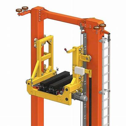 Transelevador Stacker Cranes Trilateral Automated Crane Palets