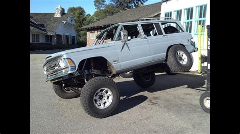 jeep grand wagoneer linked coilovers vortec  swap youtube