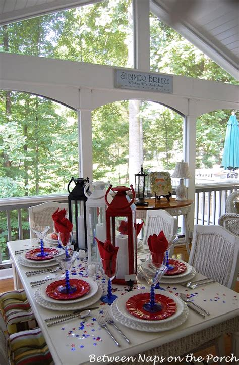 tablescape     july