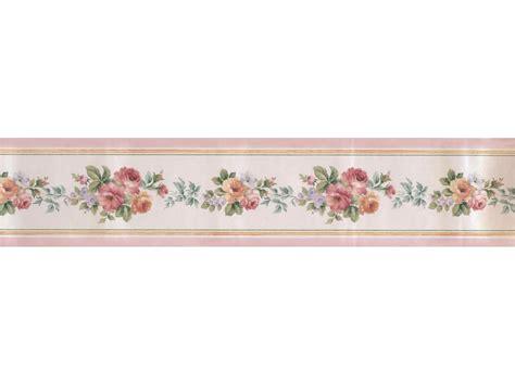 satin rose wallpaper border