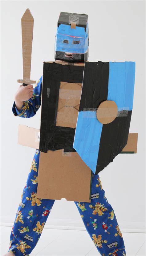 cardboard armor cardboard box armour