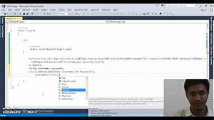 Console Application CRUD Operations Part- 1 - YouTube