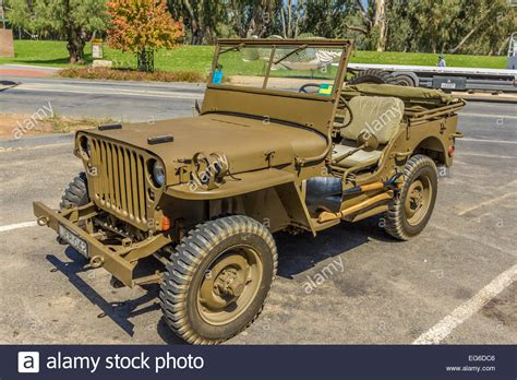 wwii jeep willys ww2 restored willys jeep stock photo royalty free image