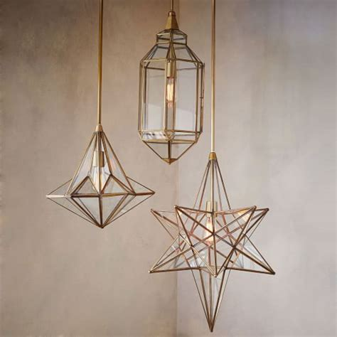 moroccan glass pendants west elm