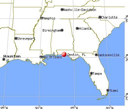 destin florida fl  profile population maps real
